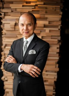 Prof Jimmy Choo at the AGOA Expo