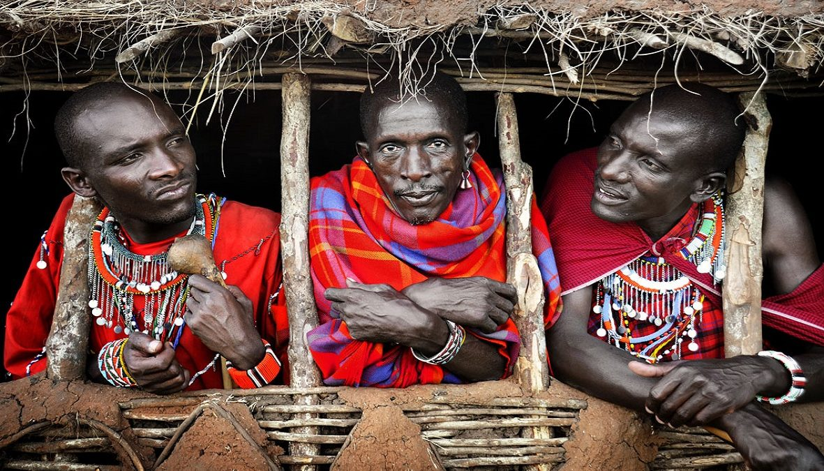 02-David-Lazar-Three-Masai-Warriors